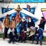 merci beaucoup a les tudiants de SaintEtienne pour le streetartourhellip