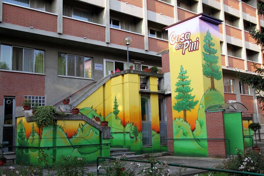 Casa Dei Pini IL CERCHIO E LE GOCCE 2011 Torino