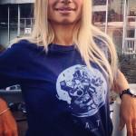 Ecco le esclusive tshirt da ragazza di SAT streetartourtorino realizzatehellip
