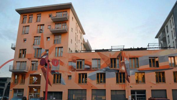 Vesod Social Club Torino Murales 2012 il cerchio e le gocce